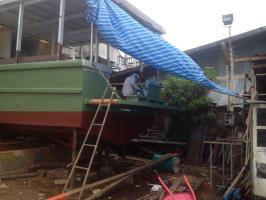 Building new diving boat ADA Numchok 9