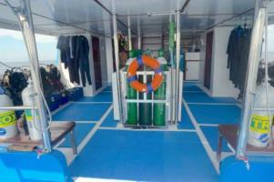 MV Smiling Seahorse dive deck