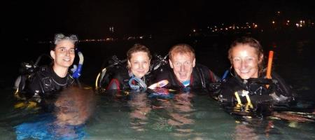 Night Dives in Boracay, with White Beach Divers