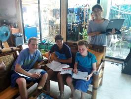 junior open water students
