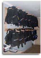 SCUBA Room Gear BCD