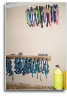 SCUBA Room Gear