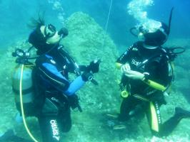 Formation au parachute de plongée