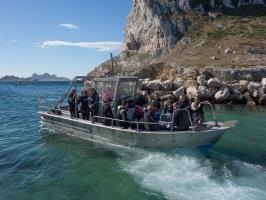 Départ bateau à Cap Croisette