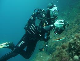 Plongeur PBP en mer