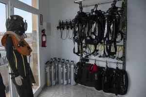 Technical diving equipment