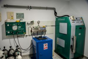 Compressor room air, nitrox and trimix