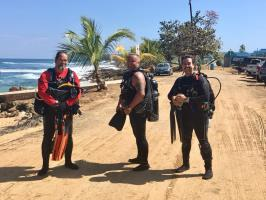 Los Tubos Shore Dive