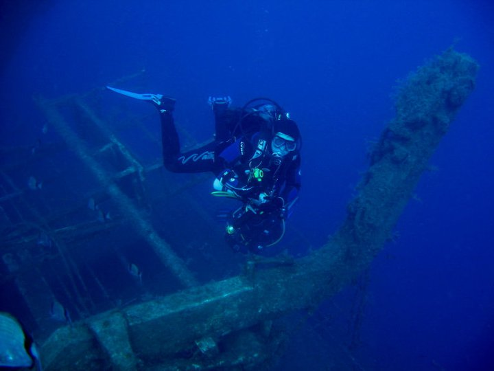 Zenobia wreck, diving in Cyprus
