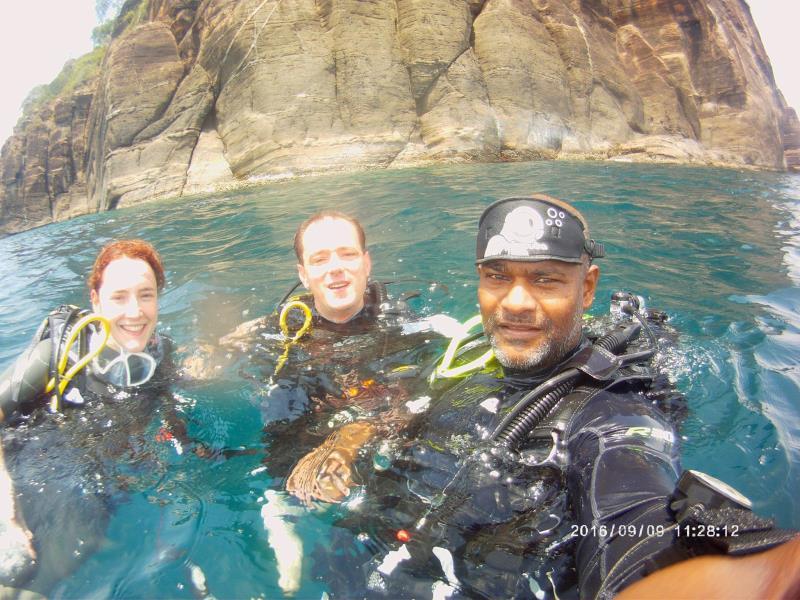 After dive 2