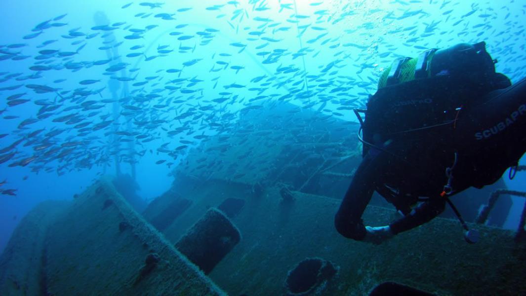 Aquarius dive center Tenerife