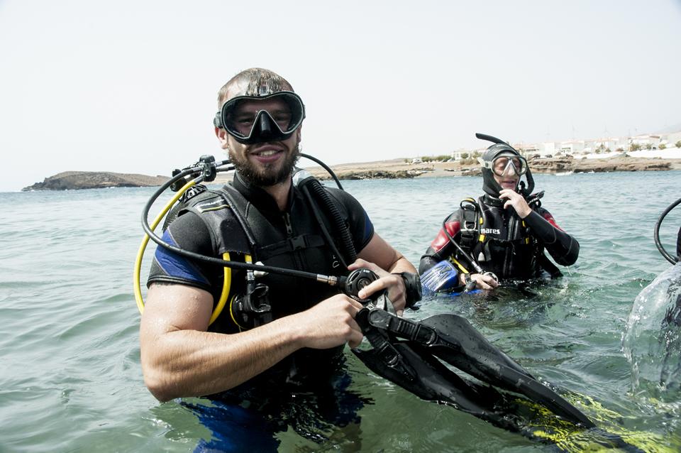 Discover scuba diving Abades Tenerife