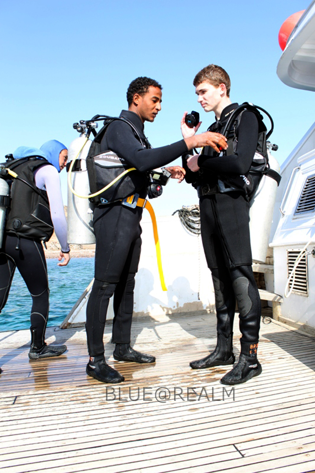 Safety in diving is our priority