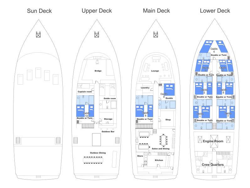 Carina_Deck Plan