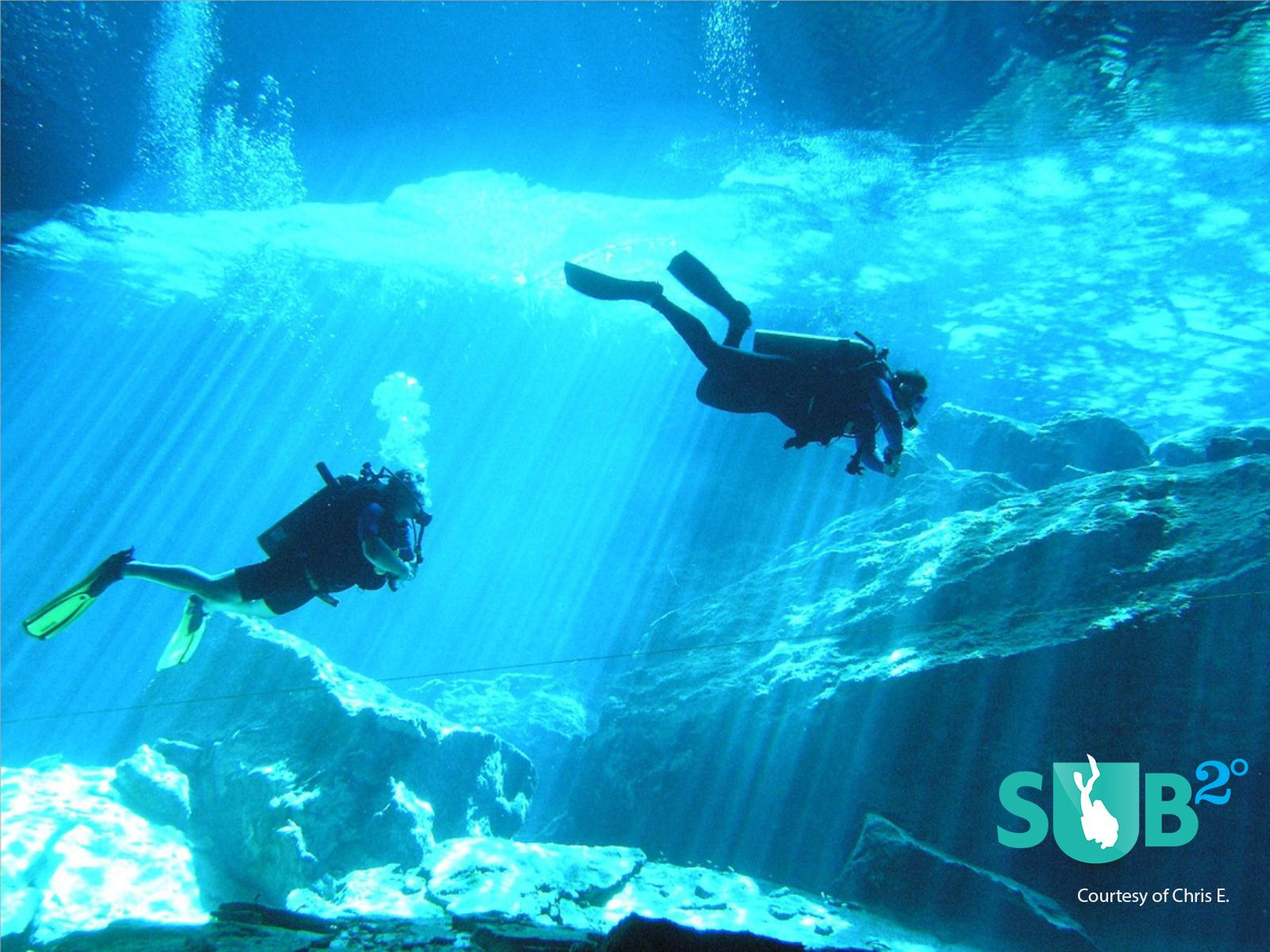 "Diving in the Cenotes, the Mayans' ""Sacred Wells"""
