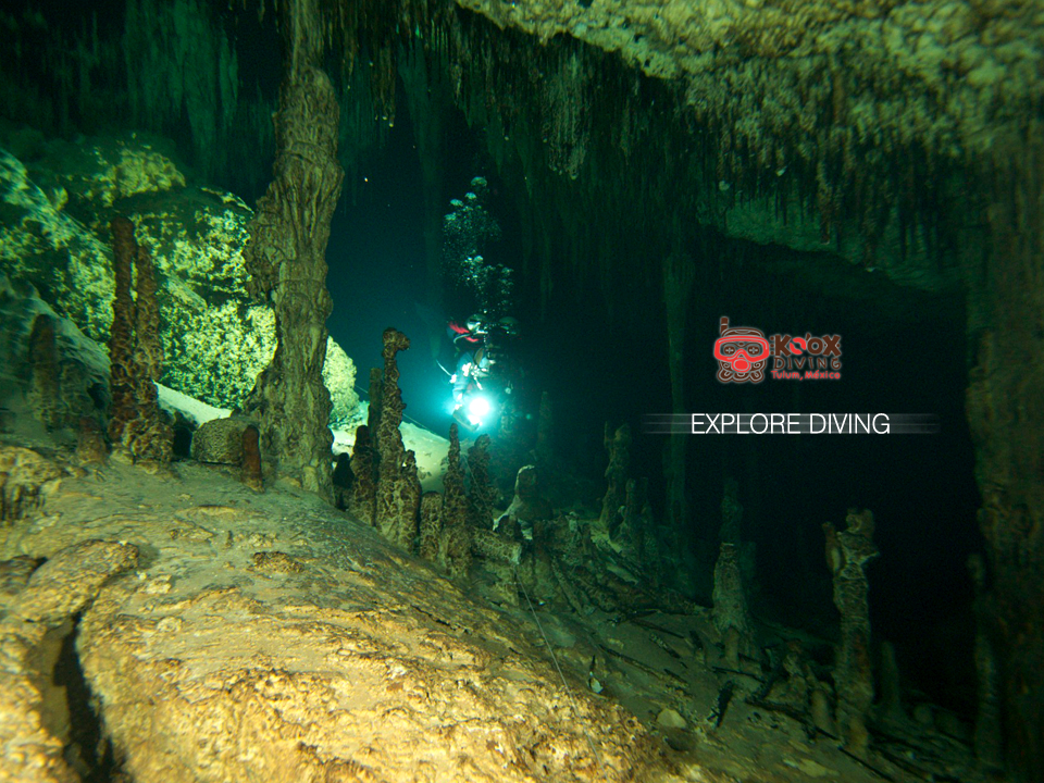 DIving, Tulum, Cave, Mexico, Unique, Formations, Stalactites, Stalagmites, underworld.