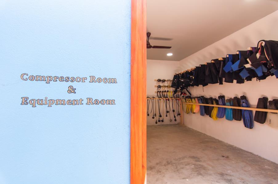 Compressor room & Equipment room