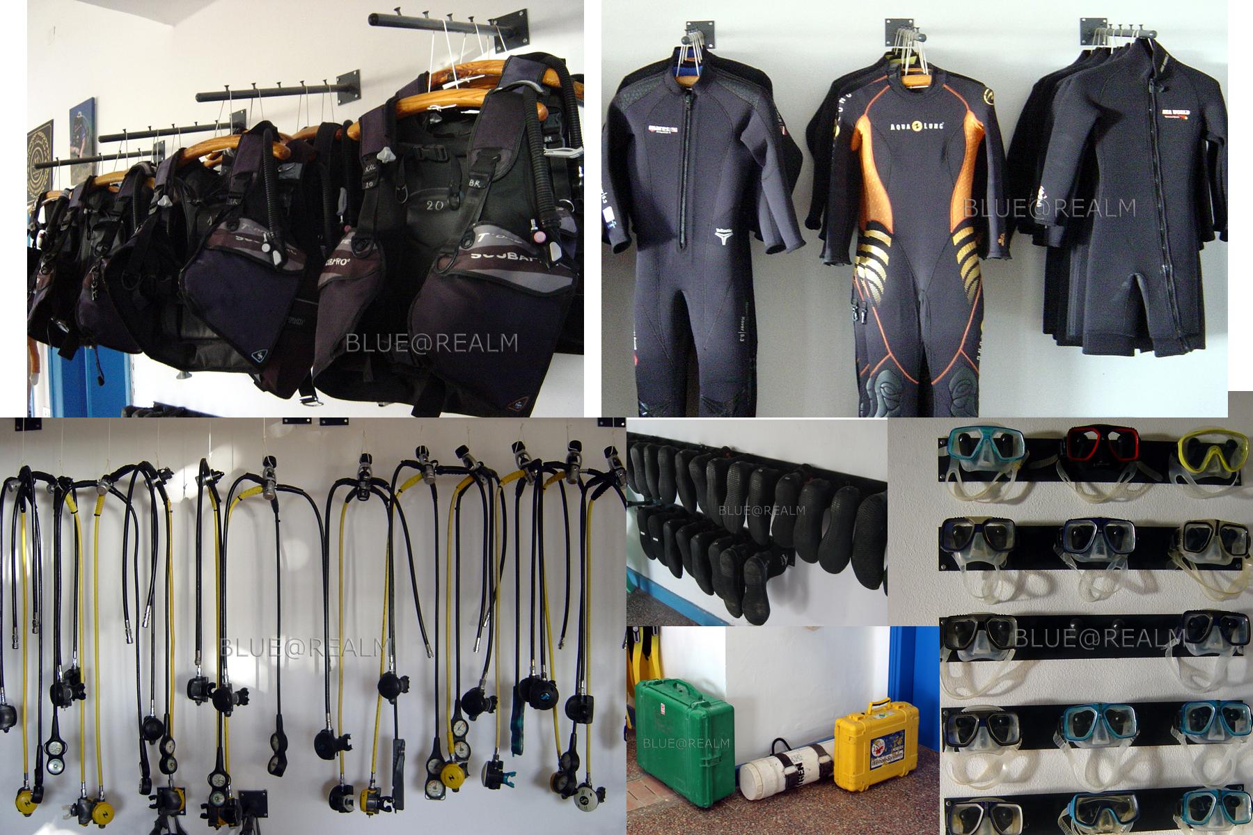 Scuba Diving & Snorkeling equipment for rent