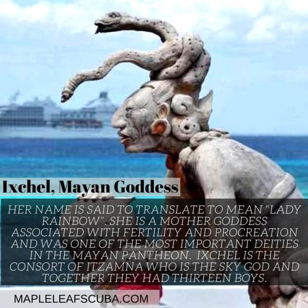 Did you know that Cozumel had a Mayan Goddess?