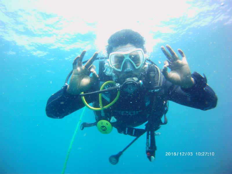 Diver All OK
