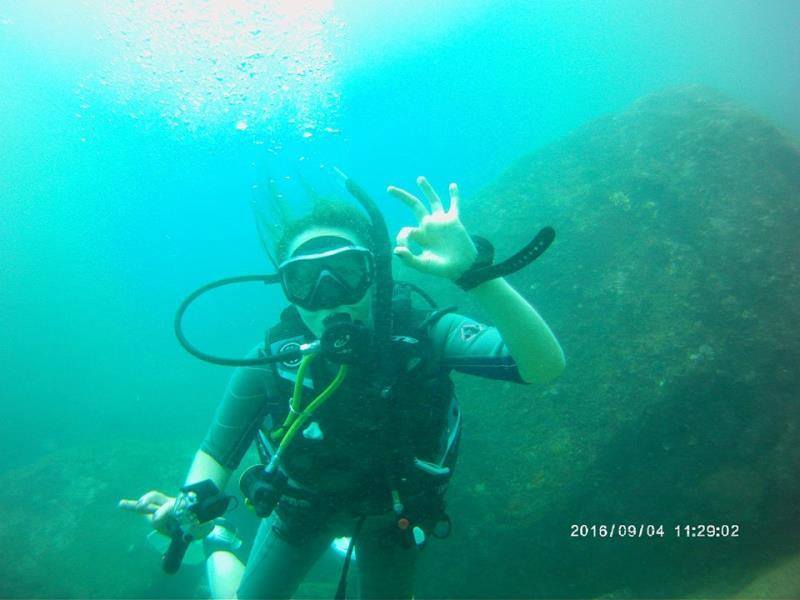 Diver Gaelle