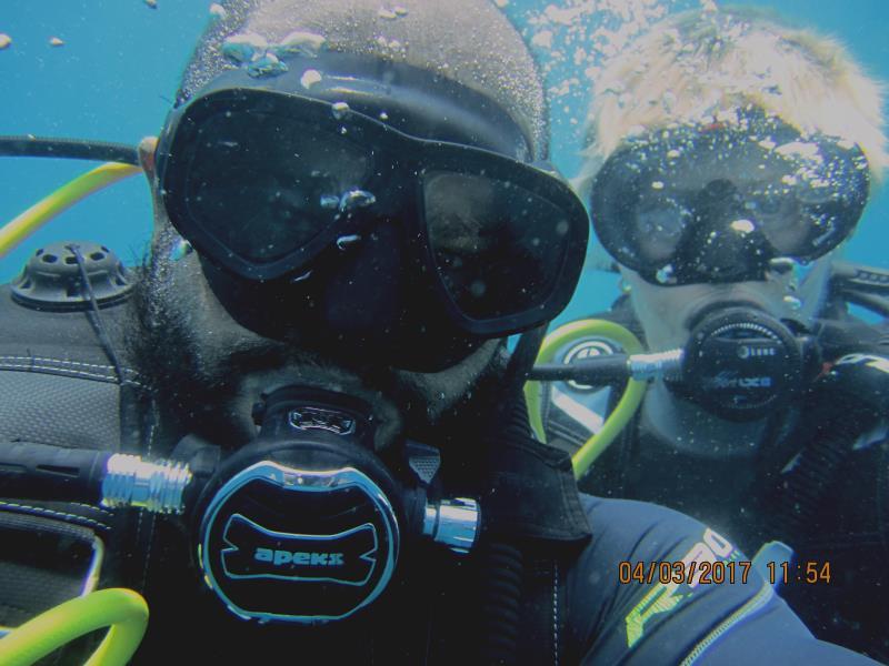 Divers selfie