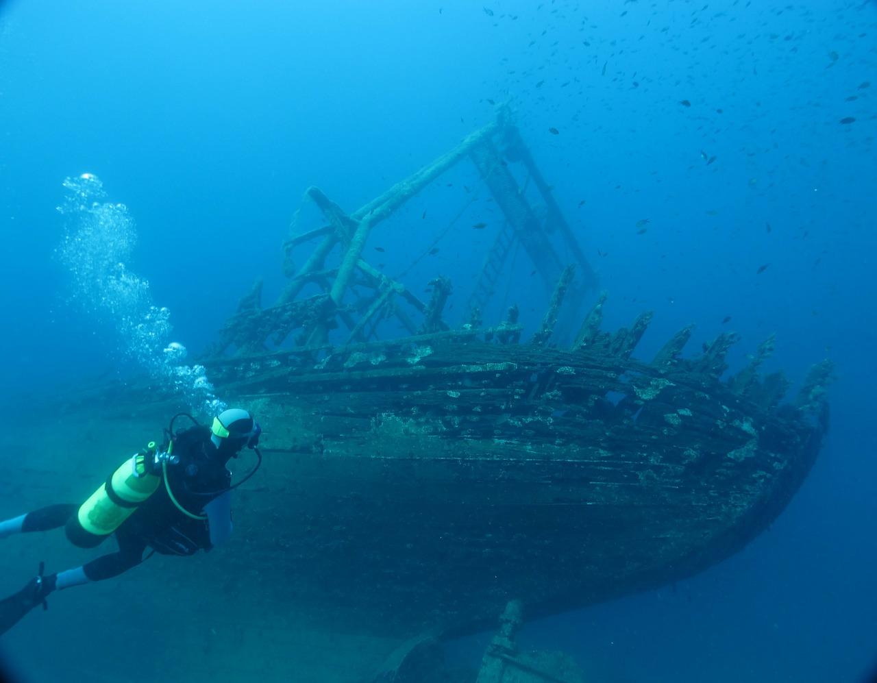Diving around Hvar