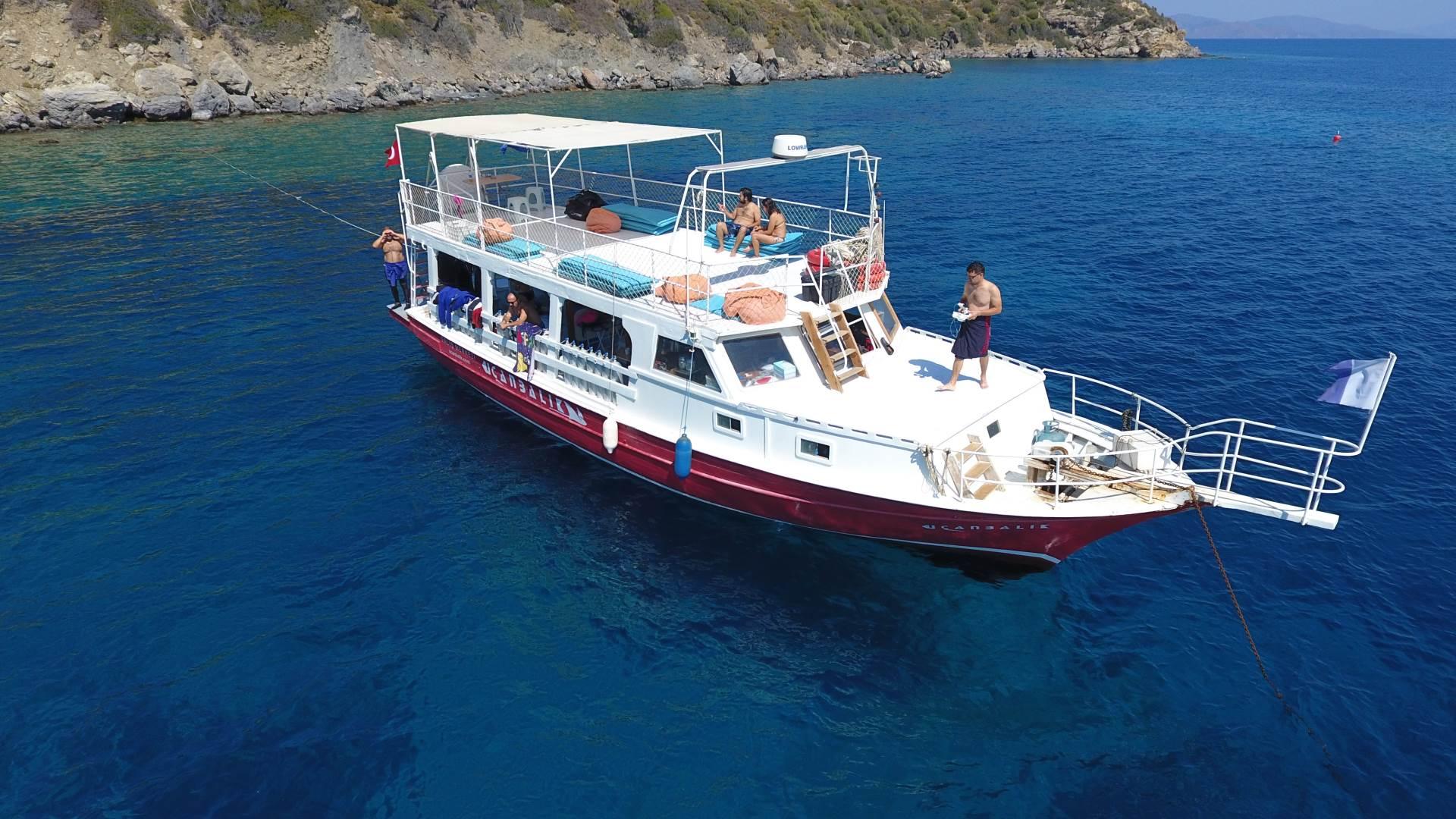 Datca Ucanbalik Diving Center, Dive Boat UCANBALIK