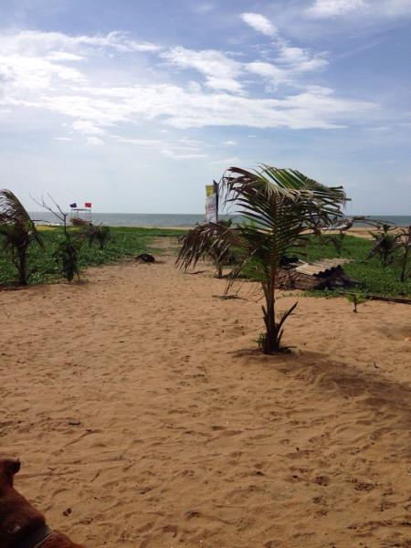Entrance from the beach - Negombo