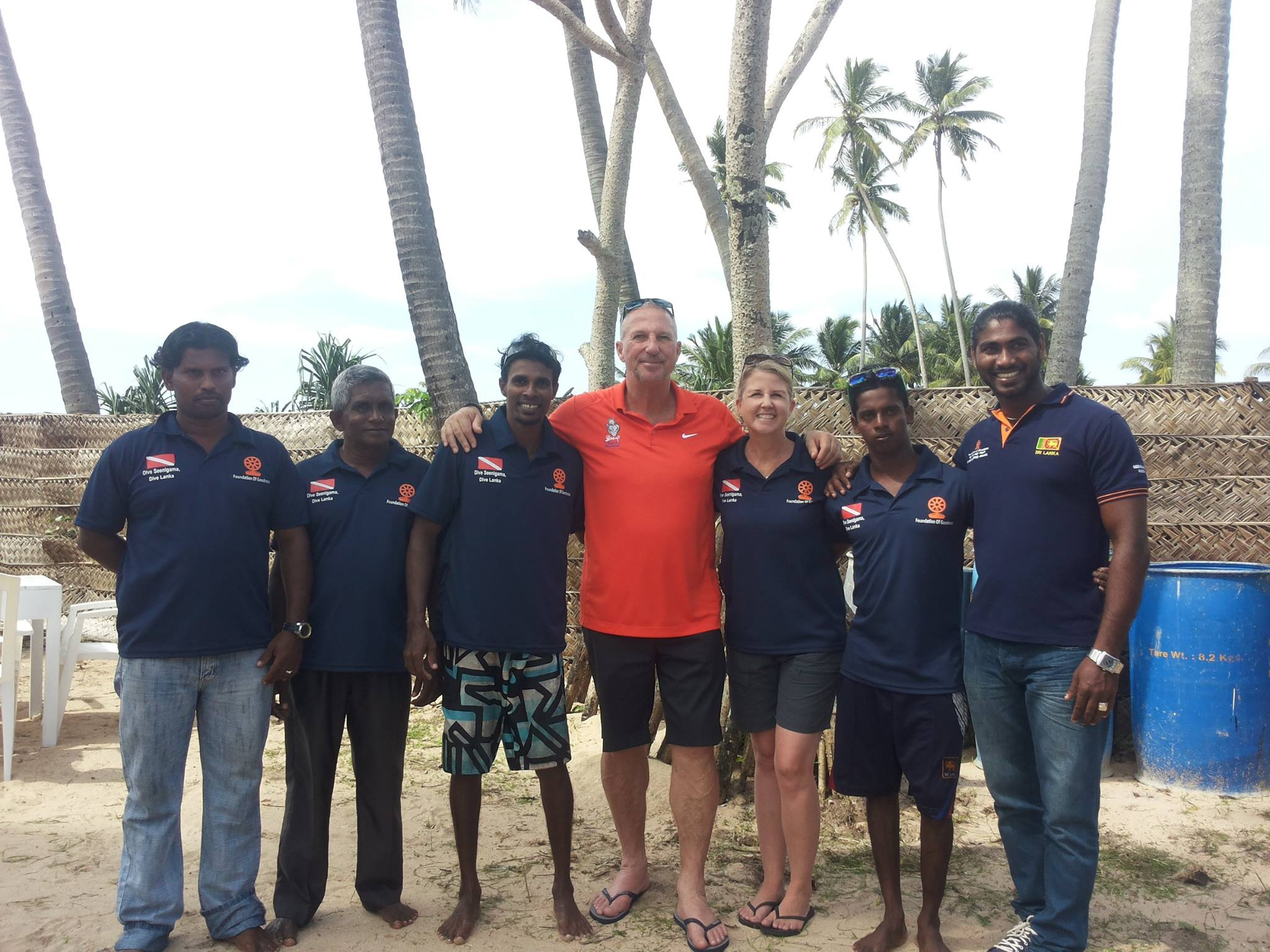 Sir Ian Botham is an long time esteemed supporter of Foundation of Goodness and Dive Seenigama, Dive Lanka