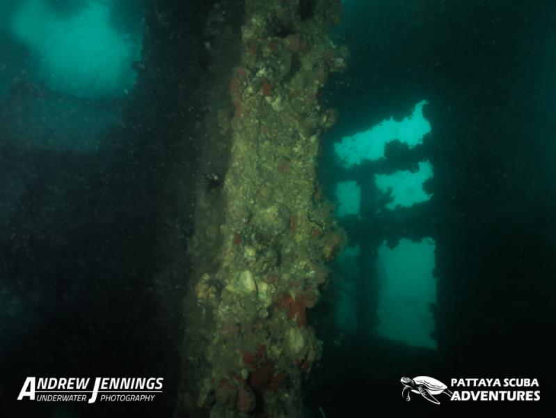 Inside The Hardeep Wreck Stern