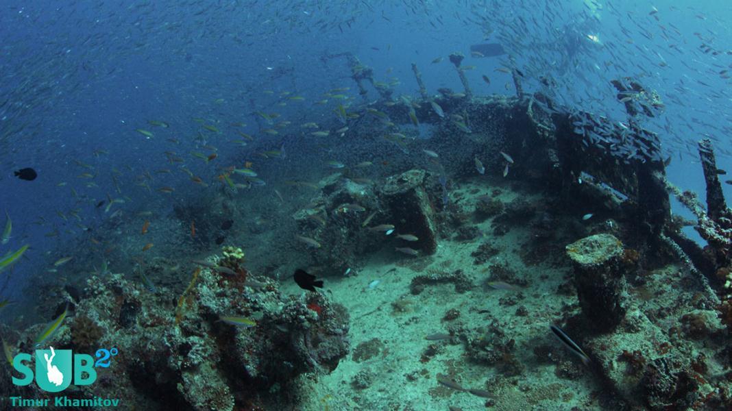 Kudhi Maa Wreck - Deck
