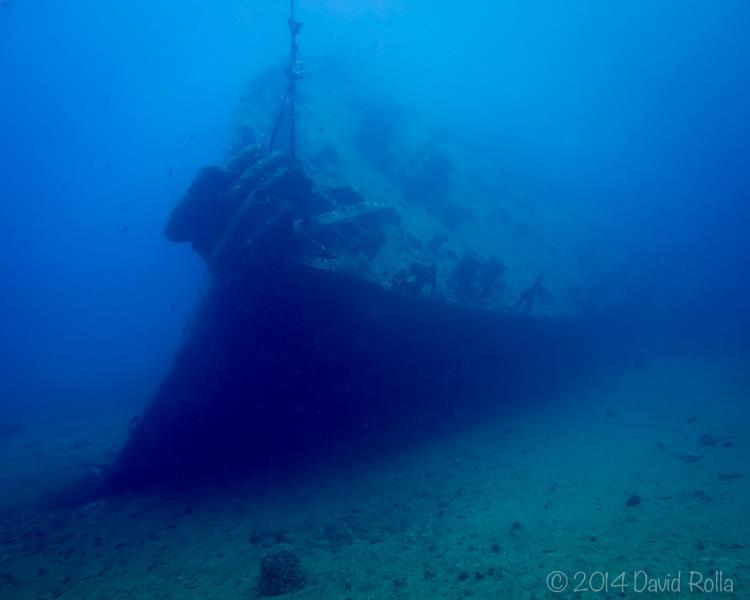 Mahi shipwreck