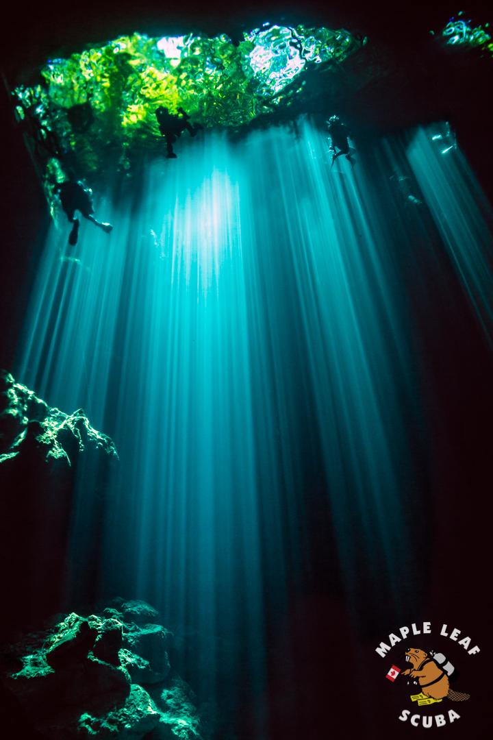 Amazing light rays going thru El Pit