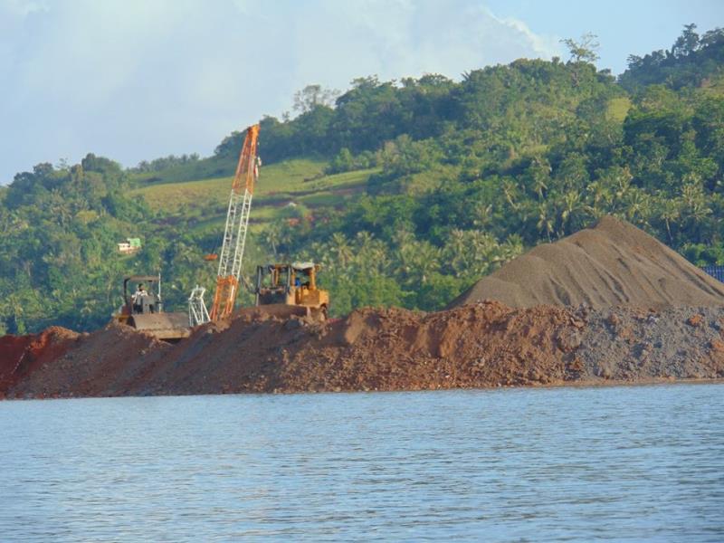Mining in Bangka Island