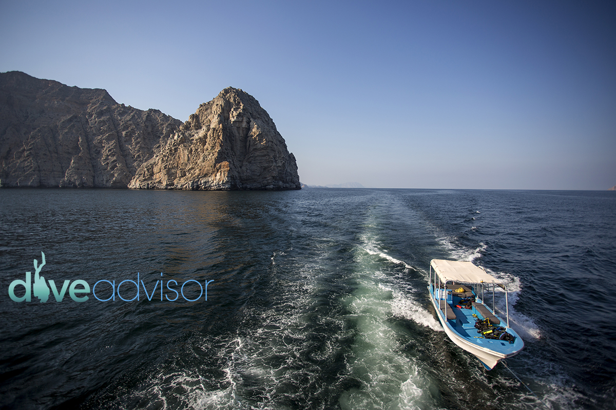 One of the greatest thing about Musandam is that the drive to the dive site is almost as pleasant as the dive itself.