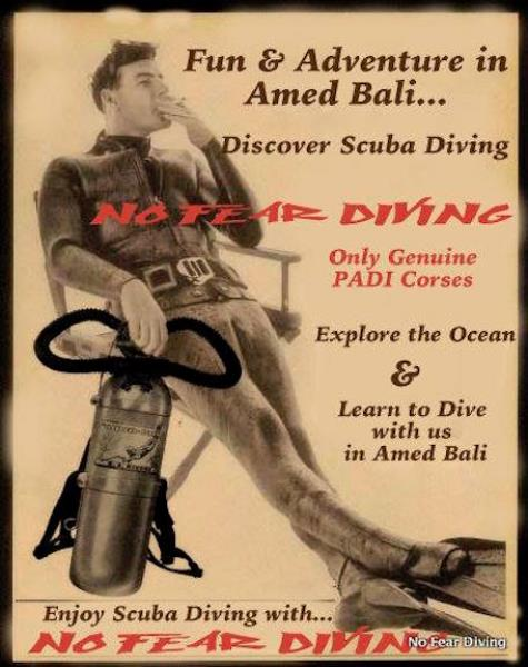 No Fear Diving AMED BALI DEUTSCHE TAUCHSCHULE