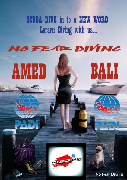 No Fear Diving AMED BALI DEUTSCHE TAUCUSCHULE
