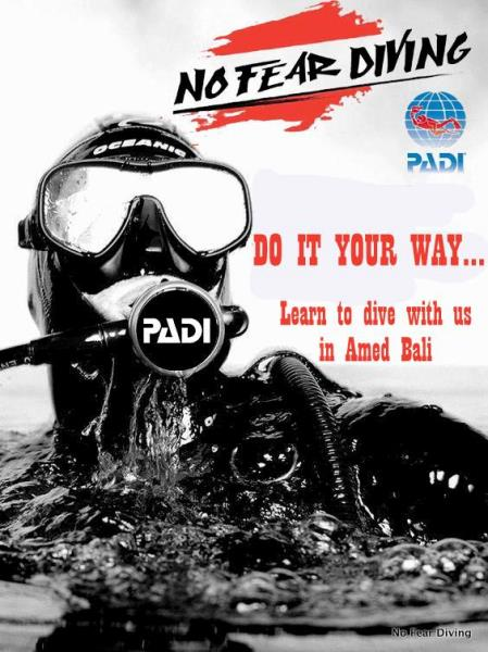 No Fear Diving DEUSTCHE PADI TAUCHELULE