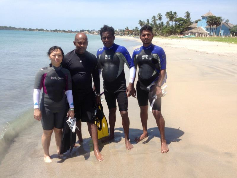 Open Water Diver Students