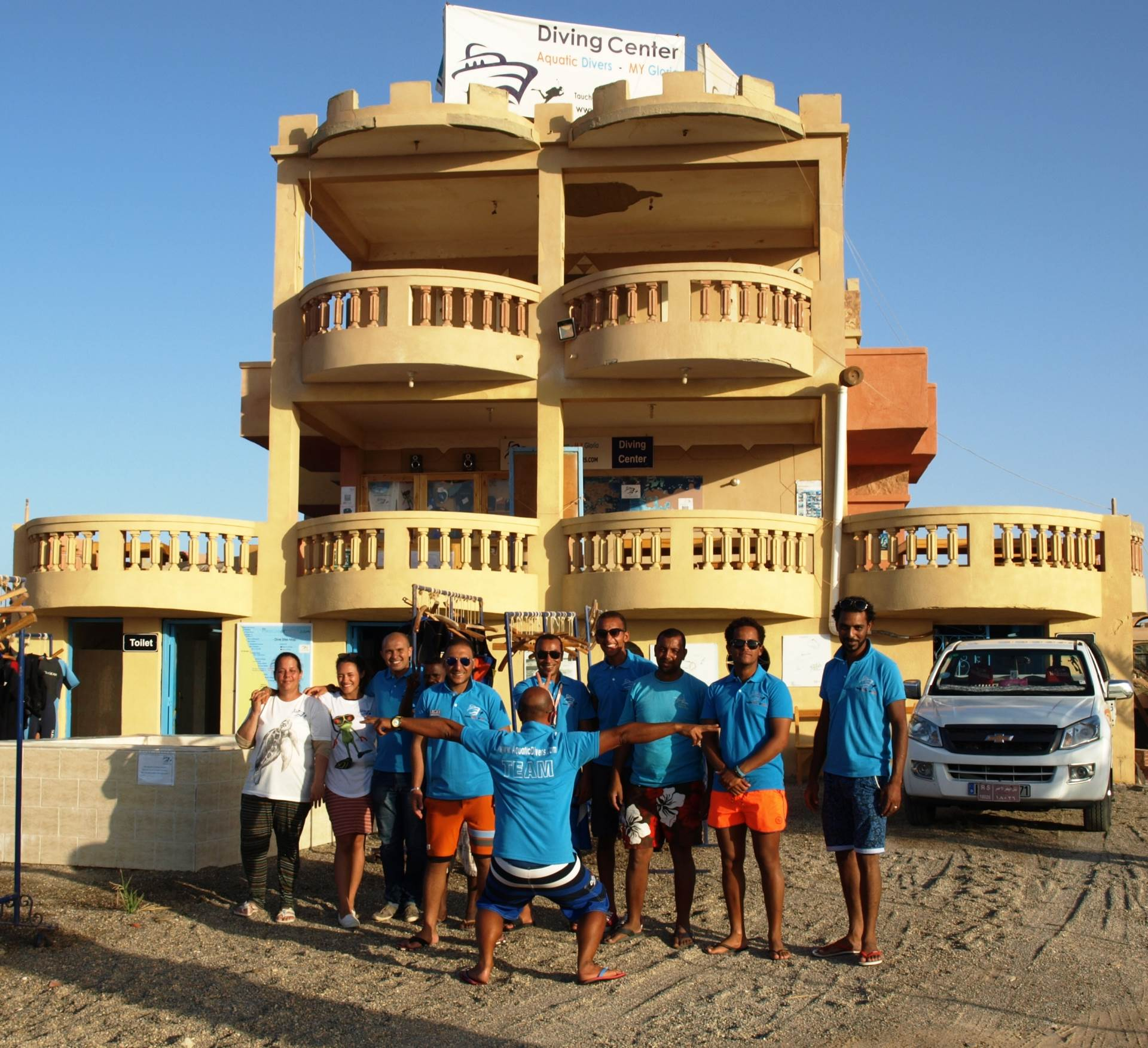 Our Diving Center in Marsa Alam (Egypt) and Team