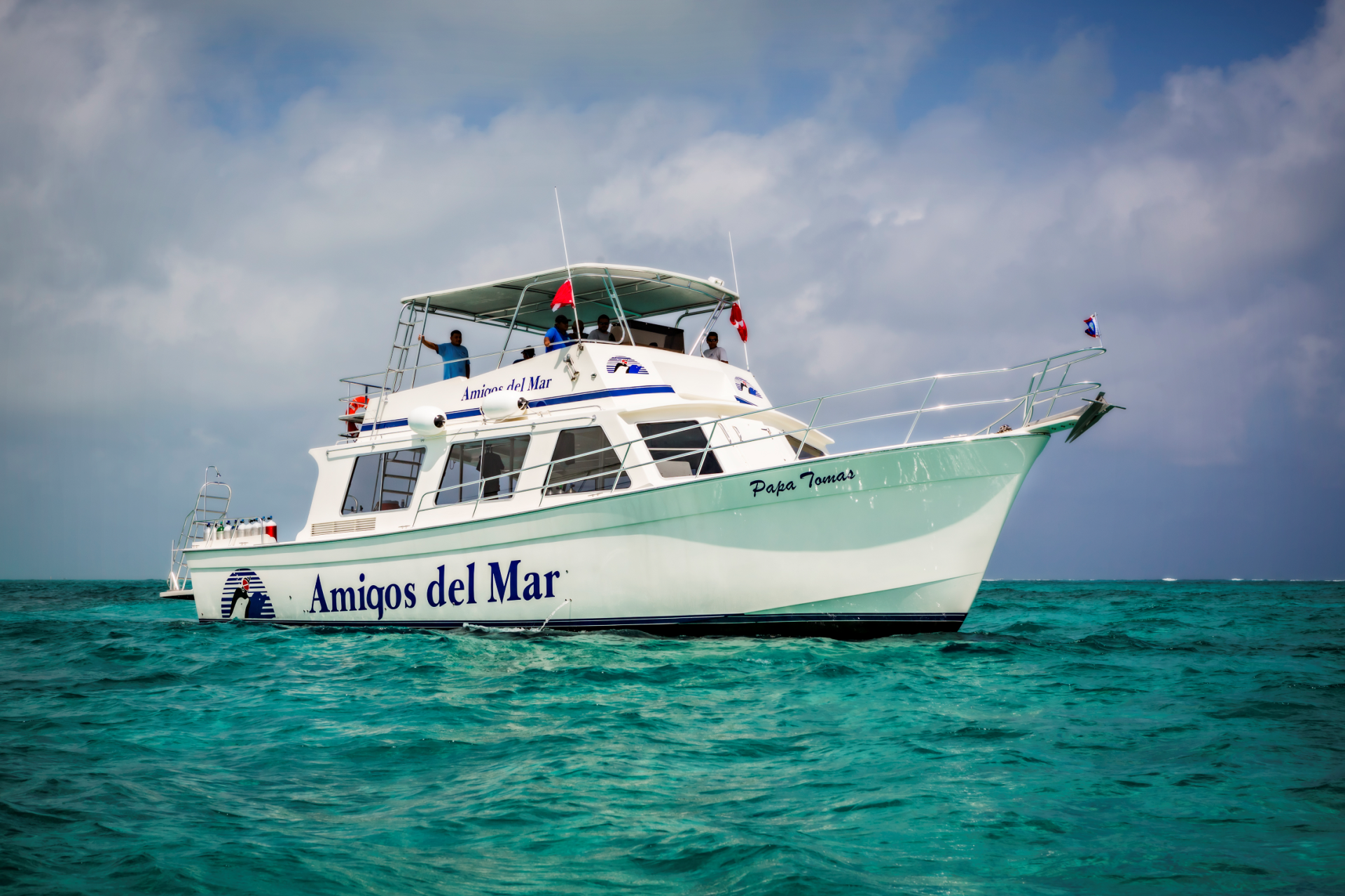Blue Hole Dive Boat