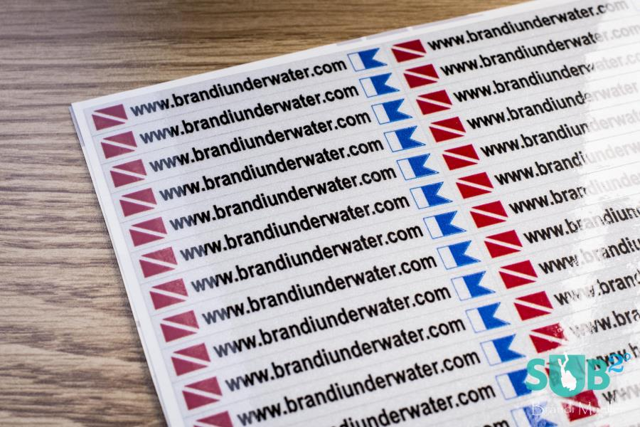 Personalized Waterproof Stickers