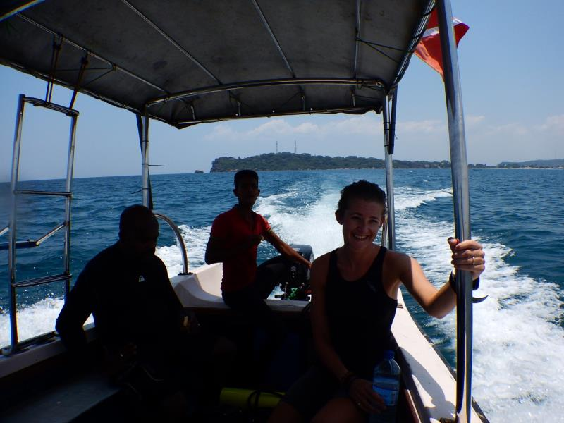 Returning from a great dive!
