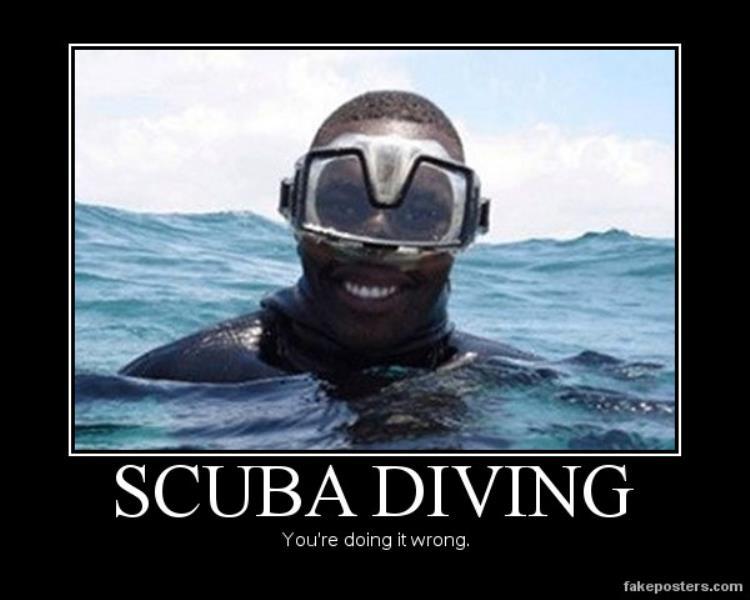 Scuba Diving Wrong