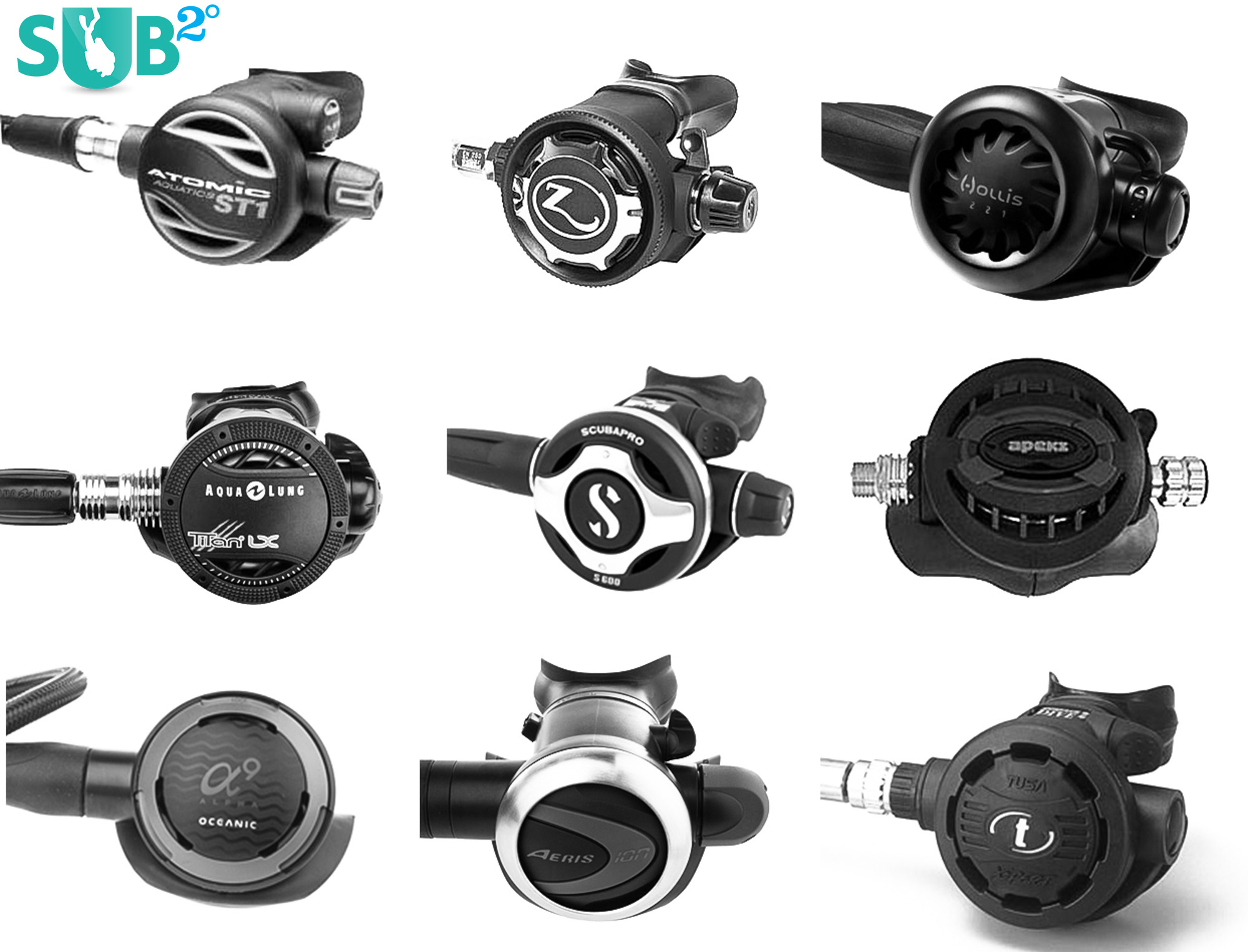Just some of the many second stages available.  Product photos from www.leisurepro.com.
