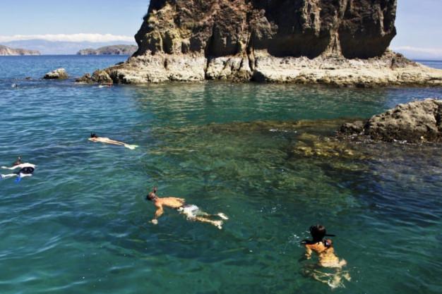 Los Morteros, Tortuga Island
