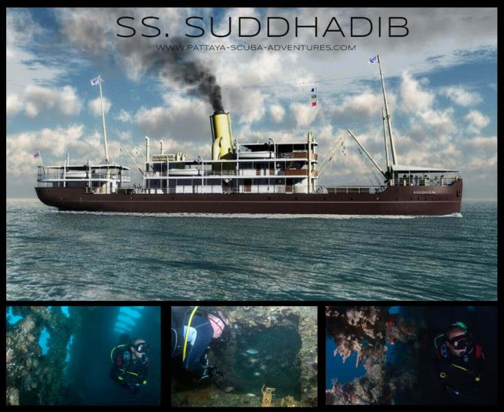 SS SUDDHADIB HARDEEP WRECK DIVING PATTAYA