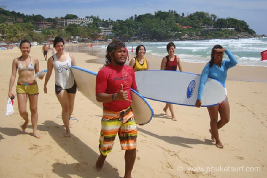 Surfing Phuket Lessons