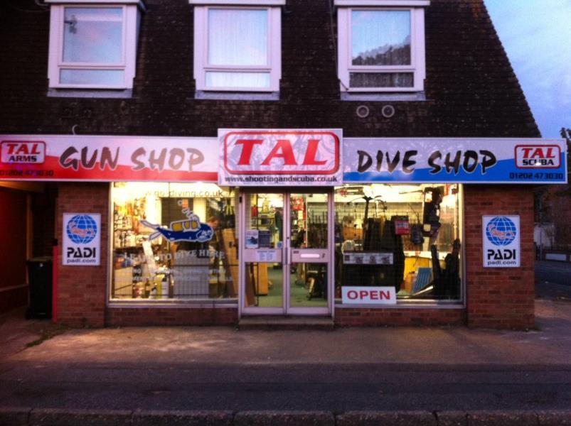 TAL Scuba diving - Great shop